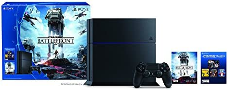 PS4 500GB HW Bundle Star Wars Battlefront - Standard - Bundle Edition