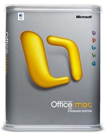 Office 2004 Mac Edition Standard
