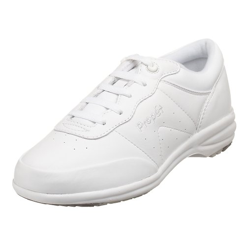 Propet Women's W3840 Washable Walker Sneaker,White,9 X (US Women's 9 EE)