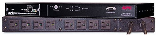 APC AP7750 Rack ATS 15A 8-Outlet 120V Rack-mount Transfer SwitchesB00008JNVX : image