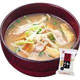 豚汁14gX10袋セット【アマノフーズのフリーズドライ味噌汁:日本国内製造】(素材の栄養を保ちつつ美味しさを封じ込めた)