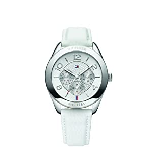 Tommy Hilfiger Women's Quartz Watch 1781202 with Leather Strap