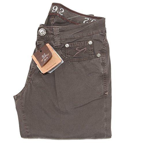 40600 pantaloni brown 9.2 jeans uomo trousers men CHIONNA CARLO [30]
