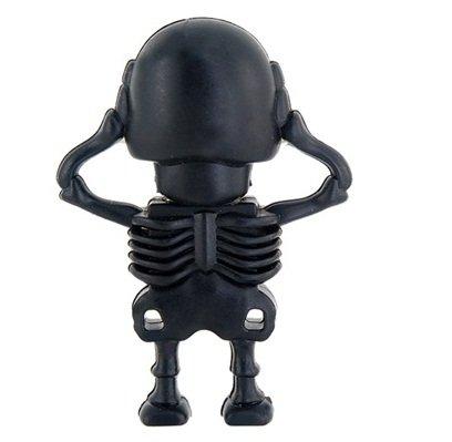 True Skeleton Shape 8gb USB Flash Drive (Black) discount price 2016