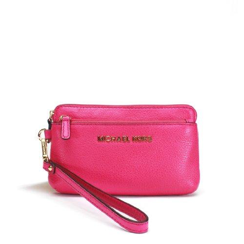 Michael Michael Kors Bedford Medium Wristlet Wallet, Raspberry