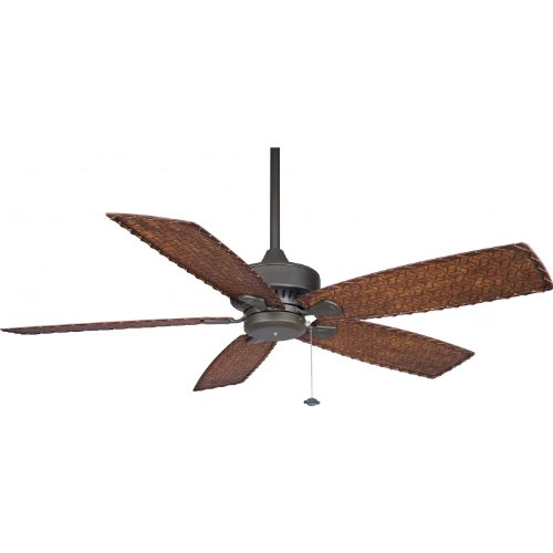 Fanimation Cancun 52 Inch Outdoor Ceiling Fan - Oil Rubbed Bronze