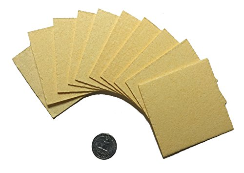 "Amrex 3""x3"" Sponge Insert Replacements From Caputron Medical (10 inserts/pack)"