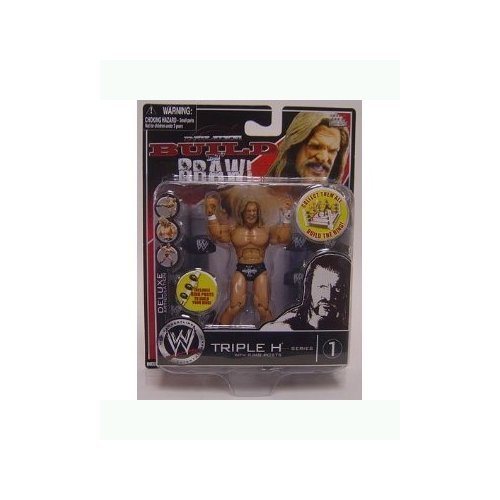 WWE: Build n Brawl Series 1 Triple H with Ring Posts 4 inch Action Figure toy [ parallel import goods ] (Wwe Build N Brawl Ring compare prices)