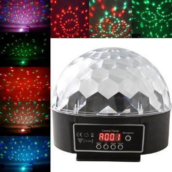 Sk Disco Stage Led Rgb Crystal Magic Effect Dot Light Ball