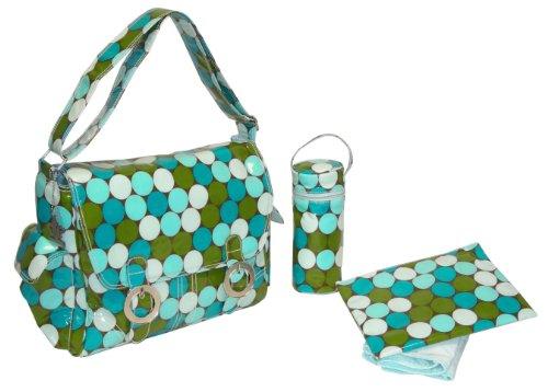 kalencom-fashion-diaper-bag-changing-bag-nappy-bag-mommy-bag-coated-double-buckle-bag-fun-dots-seasi