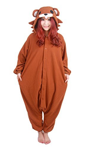 Cute Pedo Brown Bear Kigurumi Costume