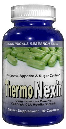 Thermonexin - 90 Capsules Fat Burner with Hoodia Gordonii and CLA Conjugated Linoleic Acid Garcinia Cambogia Weight Loss Diet Pills