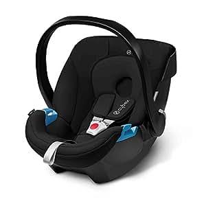 cybex aton infant car seat pure black baby. Black Bedroom Furniture Sets. Home Design Ideas