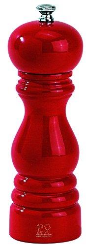 Access Peugeot 4870418 Paris Classic 7 Inch Pepper Mill, Red Lacquer saleoff