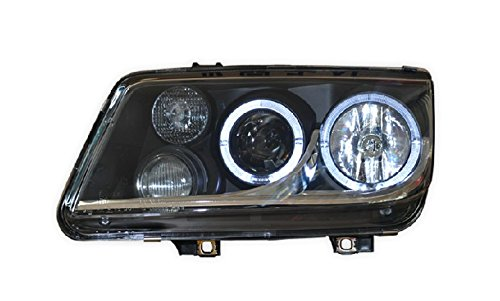Auptech Volkswagen Bora 2002-2005 Headlight Assembly Angel Eyes Halogen Hid Led Projector Headlight Lamp