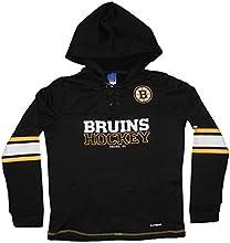 PLUS SIZE NHL BOSTON BRUINS Womens Athletic Playwarm Pullover Hoodie