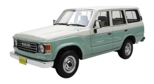 Hi Story 1/43 Toyota LAND CRUISER 60 flexdream グリーン 2トーン