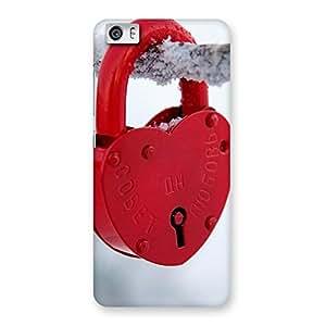 Delighted Red Lock Multicolor Back Case Cover for Xiaomi Redmi Mi5