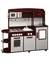 "Hot Sale All in One Modern Kitchen (Brown and Grey) (40""H x 50""W x 16""D)"
