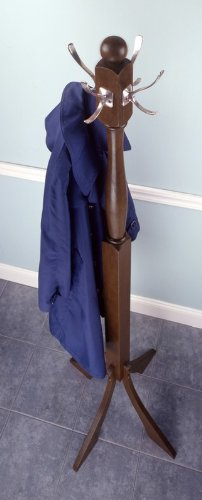 Winsome Classic Wooden Standing Coat Rack