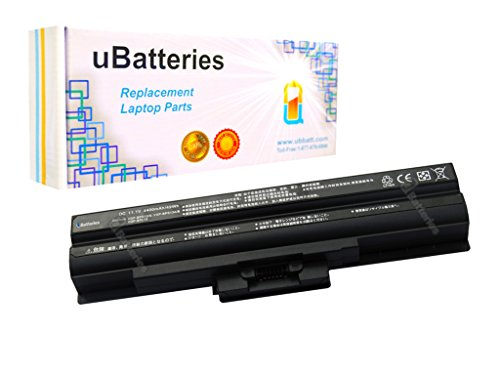 Click to buy UBatteries Laptop Battery Sony VAIO VGN-AW210J - 4400mAh, 6 Cell (Black) - From only $52.95