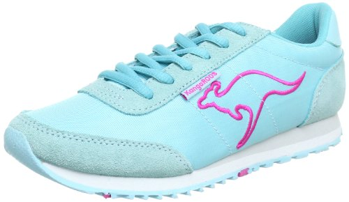 KangaROOS Bridget-Summer Trainers Women blue Blau (wave/lillipilli 463) Size: 5 (38 EU)