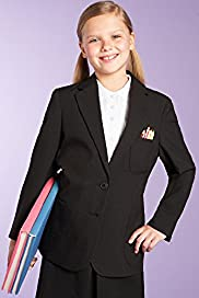 Girls Tailored Fit Classic Junior Blazer