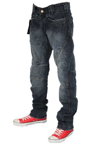 New Mens Darkwash J2 101264 And 101411 Regular Tapered Fit Jeans W34 L30