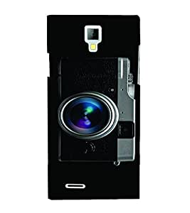 PrintVisa Travel Camera 3D Hard Polycarbonate Designer Back Case Cover for Micromax Canvas Xpress A99