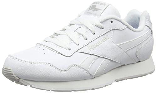 Reebok Uomo Royal Glide scarpe sportive, Bianco (Blanco  (White / Steel / Reebok Royal)), 42 2/3 EU