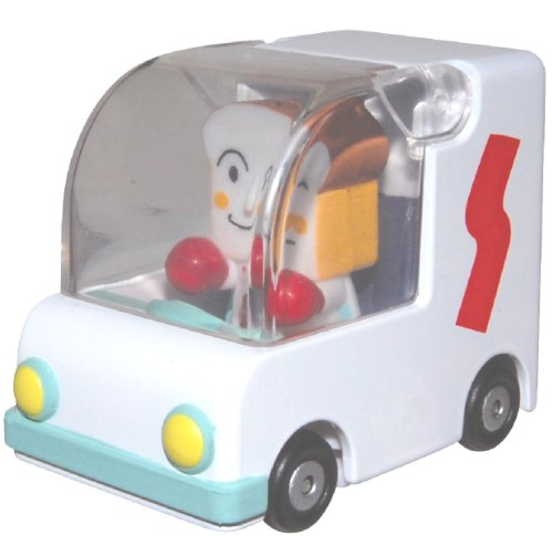 Anpanman Anpanman Museum GOGO minicar mango bread and bread Man (japan import) - 1