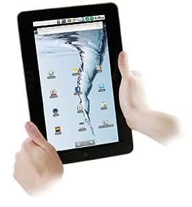 Easypix EasyPad 1000 25,9 cm (10,2 Zoll) TabletPC (1GHz, 256MB RAM, Touchscreen, Android 2.1, ) silber/schwarz