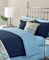 Martha Stewart Collection Bedding, Essentials Standard Sham Blue Shade