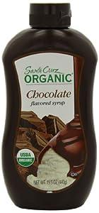 Santa Cruz Organic Chocolate Syrup, 15.5 Ounce