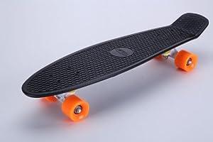 "Tiger Boards Complete 27"" Long Skateboard (27"" x 7.5"") (Black)"