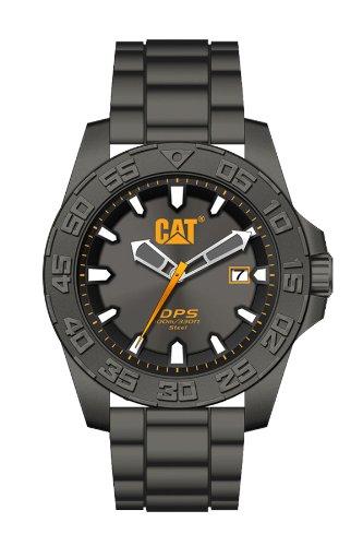CAT PN.151.25.525 - Reloj analógico de cuarzo para hombre, correa de goma color gris