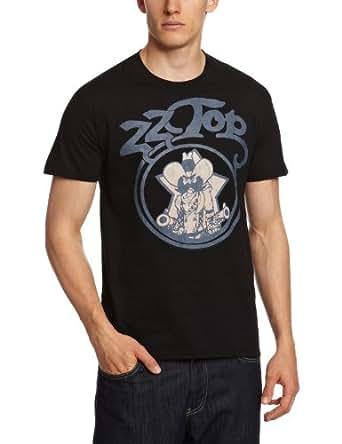 Bravado ZZ Top - Outlaw Vintage Men's T-Shirt Black Large