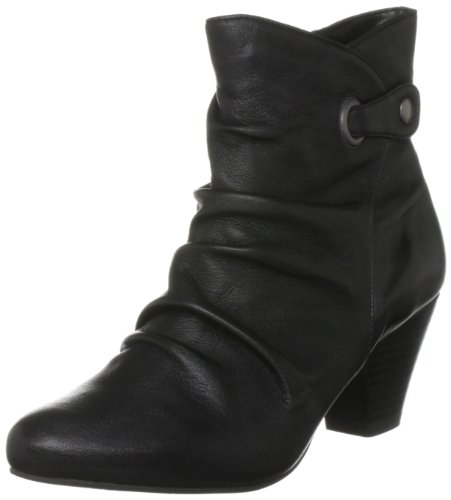 Lotus Women's Boston Black Ankle Boots 4919 7 UK