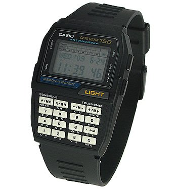 カシオ CASIO データバンク 腕時計 DBC150B-1QD