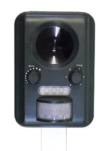 Selections GFA805 Répulsif pour chats à ultrasons - Fonctionne à l'énergie solaire
