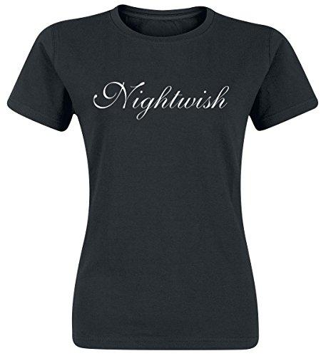 Nightwish Silver Logo Maglia donna nero XXL