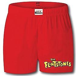 Gabi Men's Flintstones Boxers