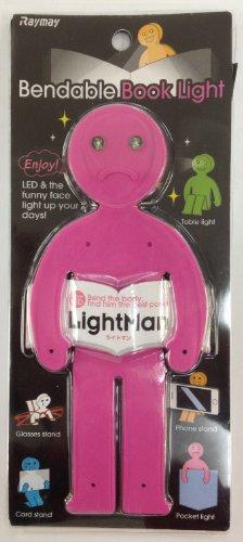 レイメイ藤井 LEDブックライト ライトマン LTM130P ピンク