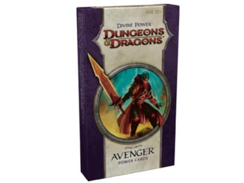 D&D: Divine Power Cards Deck - Avenger Crds Edition Published By Wizards Of The Coast [Paperback]
