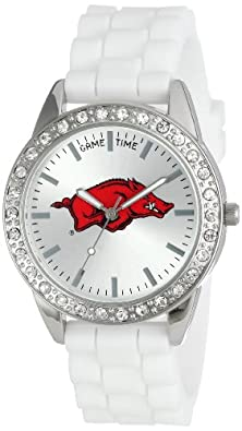 "buy Game Time Women'S Col-Fro-Ark ""Frost"" Watch - Arkansas"