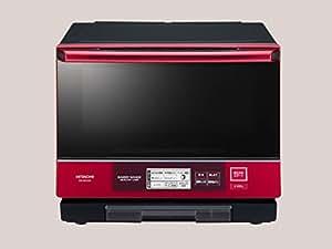 日立 過熱水蒸気オーブンレンジ ベーカリーレンジ ヘルシーシェフ 33L パールレッド MRO-NBK5000 R