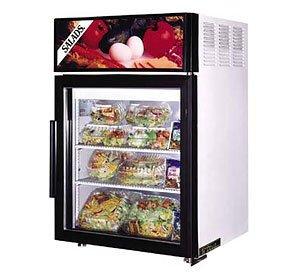 24 Countertop Glass Door Merchandiser Refrigera