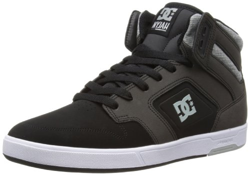 DC Shoes Mens Nyjah High M Shoe High-Top 320361 Black Wash 10 UK, 44.5 EU