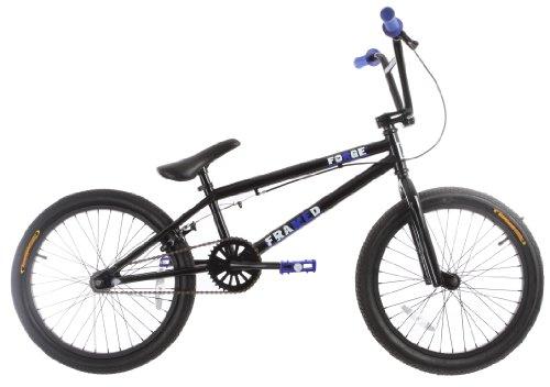 Framed Forge BMX Bike Black/Blue 20