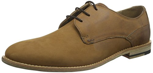 Ben ShermanSTOM Derby - Scarpe stringate Uomo , Marrone (Braun (Mid Brown)), 43